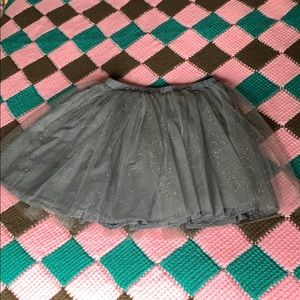 Girls silver skirt